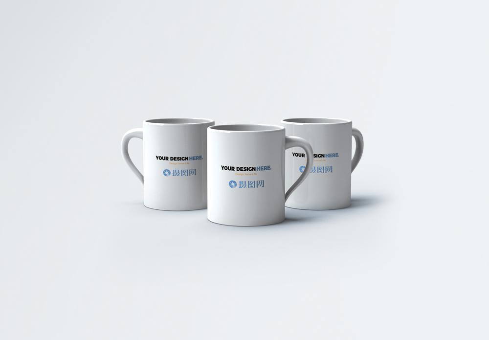 杯子包装样机图片