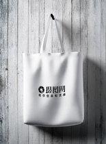 手提袋包装贴图样机图片