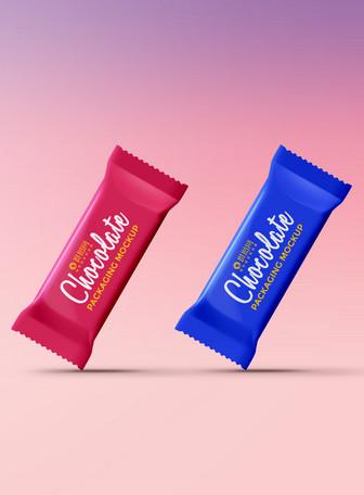 巧克力糖包装样机