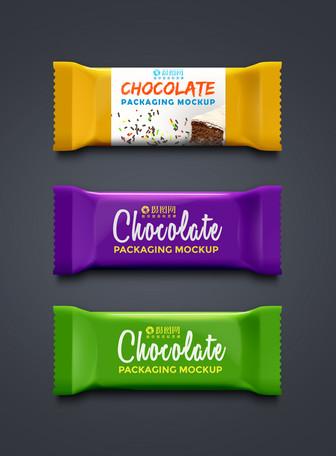 巧克力糖纸包装样机