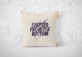 枕头贴图标签样机图片