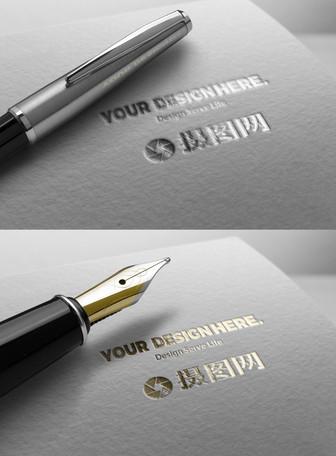 商标logo样机展示素材