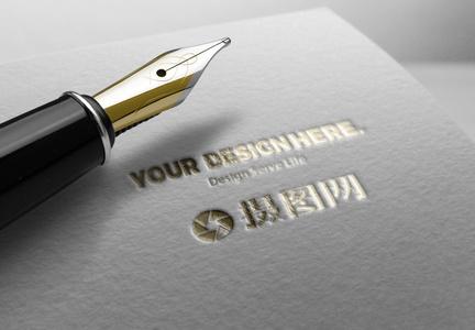 商标logo样机展示素材图片