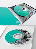 CD包装设计样机图片