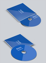 CD包装设计展示样机图片