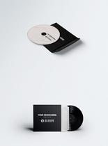 CD光盘包装样机图片