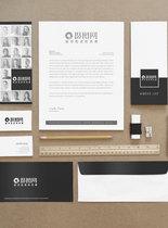 公司品牌VI提案样机图片