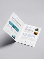 二折页展示样机图片