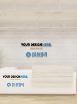 企业形象墙样机图片