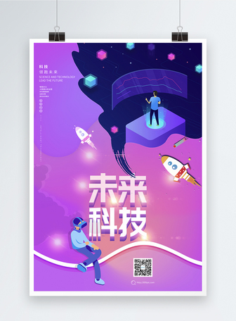 未来科技海报