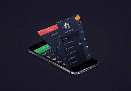 手机APP界面ui样机模板图片