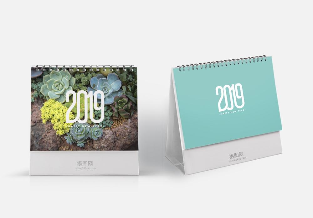 2019多肉植物台历图片