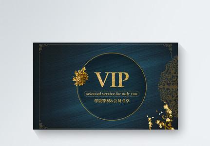 大气时尚VIP会员卡模板图片