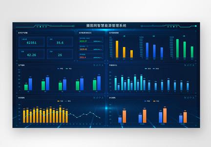 web智慧能源监控系统图片