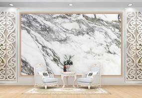 黑白大理石背景墙图片