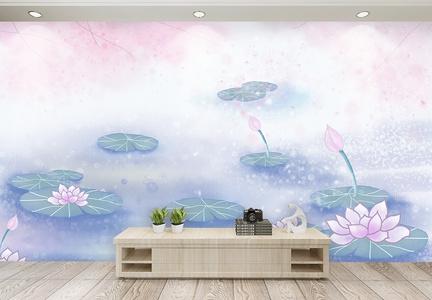 中国风水墨背景墙【重传的样机错了】图片