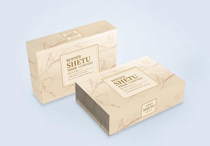化妆品包装礼盒设计图片