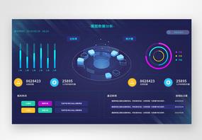 ui设计web界面后台数据页面图片