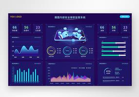 ui设计web界面可视化数据页面图片