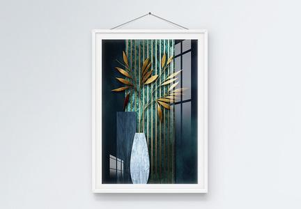现代简约轻奢抽象装饰画图片