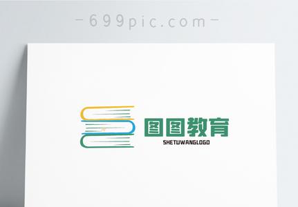 图图教育logo设计图片