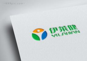 三色象形保健品医疗行业logo图片