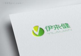创意绿色保健品医疗logo设计图片