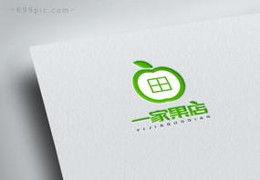 一家果店logo图片