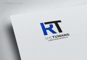 英文字母RTlogo设计图片