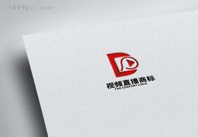 字母D影视logo设计图片
