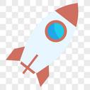 矢量飞行火箭宇宙飞船图片