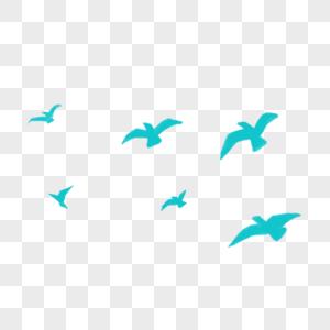 一群大雁图片