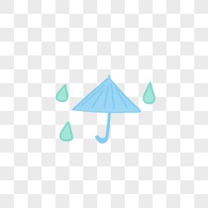 下雨 雨伞图片