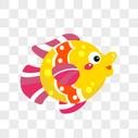 彩色的鱼图片