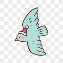 飞翔的鸟图片