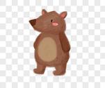 棕色的熊图片