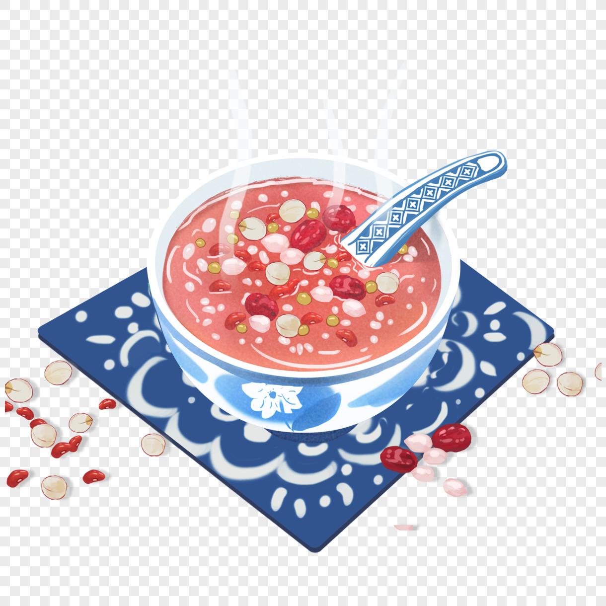 图片 素材 手绘/卡通元素 腊八粥.