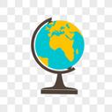 矢量地球仪图片