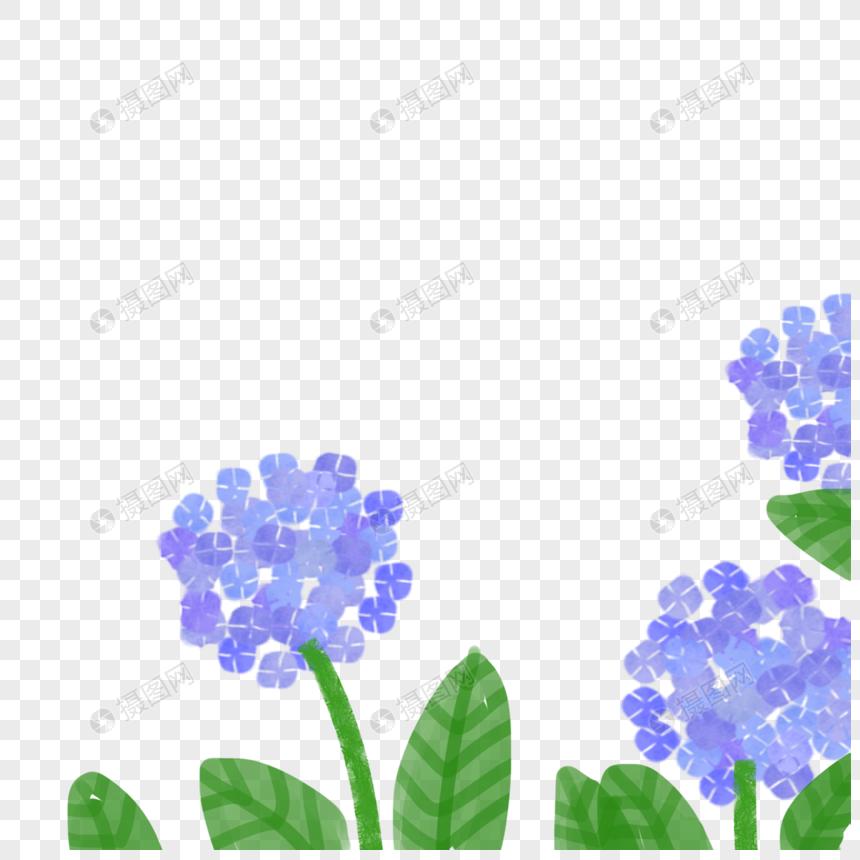 蓝色绣字体元素商标psd球花_设计素材免费下设计教程素材格式ps图片