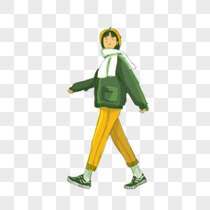 走路的人高清图片