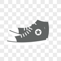 帆布鞋图片