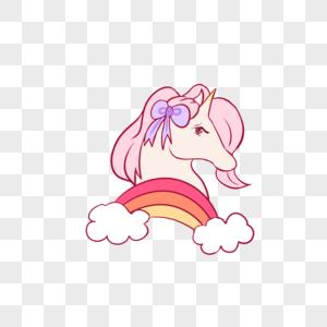 彩虹小马图片