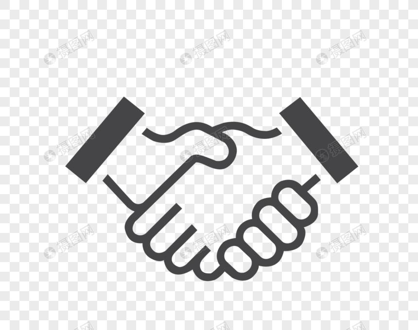 握手矢量图_握手元素素材下载-正版素材400182473-摄图网