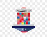 矢量轮船图片