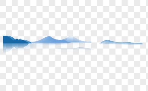 大山矢量图图片