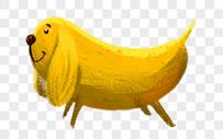 香蕉狗图片