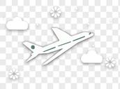 飞机元素图片