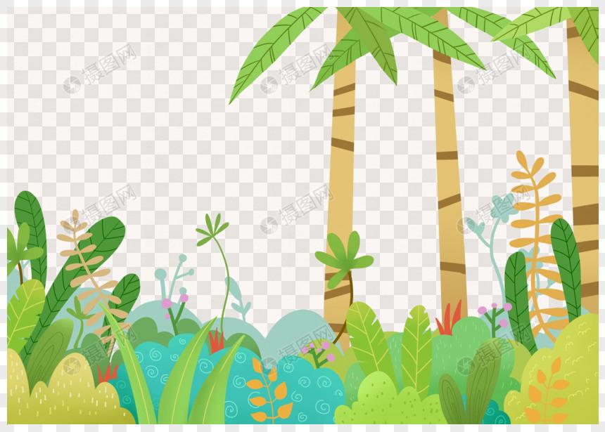 森林花卉植物图片