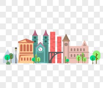 矢量建筑图片