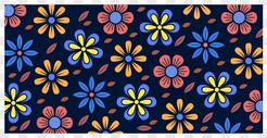 花朵图形背景图片